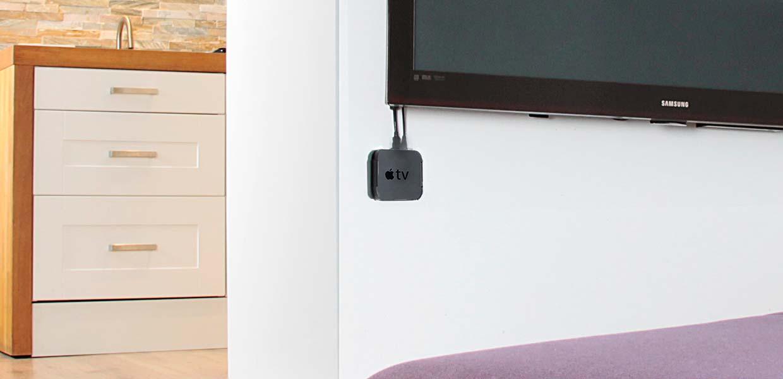 Wandhalterung für Apple TV Geräte von Cool Bananas